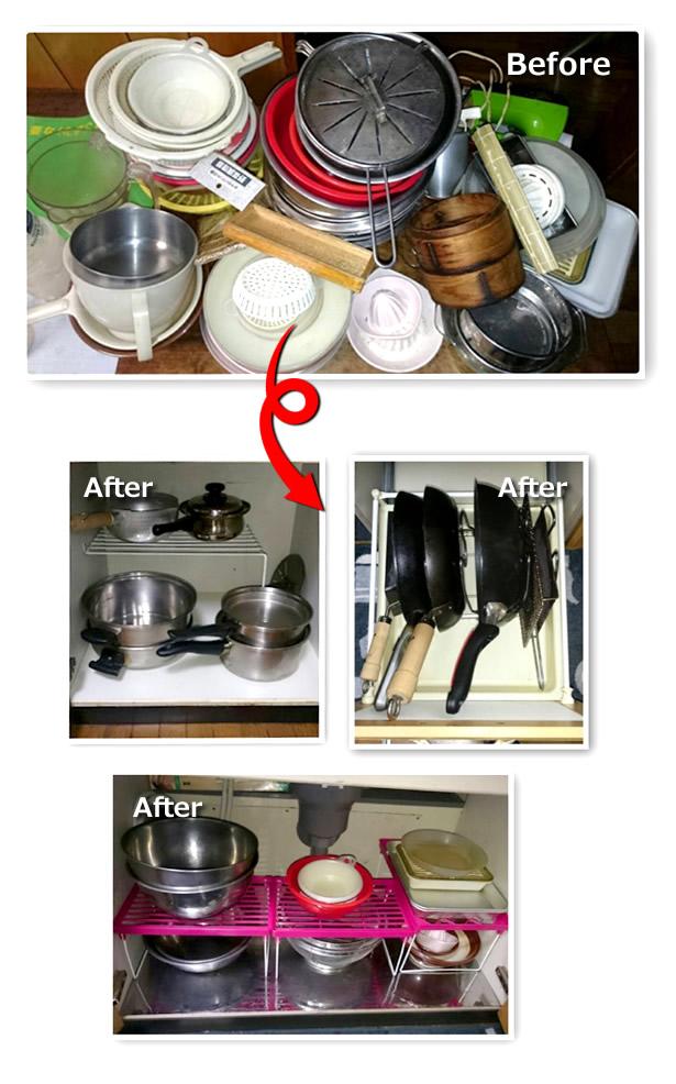 【2人の主婦が立つキッチン】作り1DAYパック施工後写真